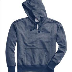Champion Men's Heritage Heather hoodie embroidered